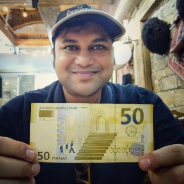 What is Azerbaijan's currency and How to spend a day with 50 Azerbaijani Manat in Baku?